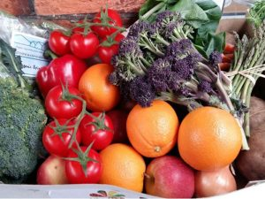 April Fruit & Veg Box